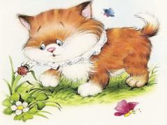 Сказка про котенка