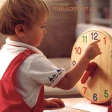 Как научить ребенка понимать часы?
