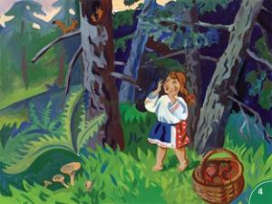 Сказка про девочку Олю