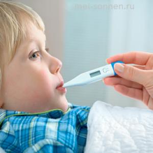 Что делать при гипертермии у ребенка?