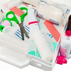 Что должно быть в аптечке для новорожденного ребенка?