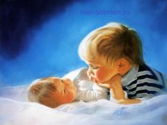 Два ребенка – одна мама