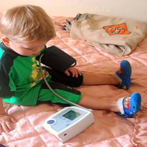 Как измерить артериальное кровяное давление ребенку?