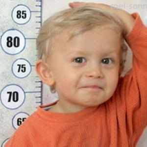 Как измерить рост у ребенка?