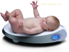 Как измеряется вес новорожденного?