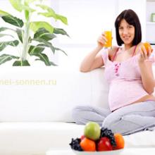 Каким должно быть здоровое питание при беременности?