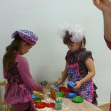Конспект непосредственно — образовательной деятельности по теме: Посуда и продукты в подготовительной группе для детей с ОНР