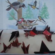 Конспект занятия в средней группе для детей с ОНР по теме «Зимующие птицы»