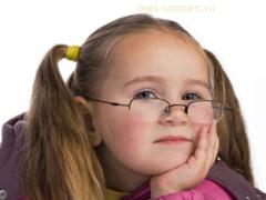 Профилактика зрения у ребенка