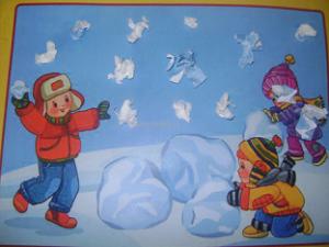 """Сценарий совместного развлечения """"КВН: обобщающее занятие по теме """"Зима"""""""