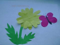 """Занятие для детей с задержкой психического развития на тему """"Цветы"""""""