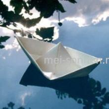 Как сделать бумажный кораблик?