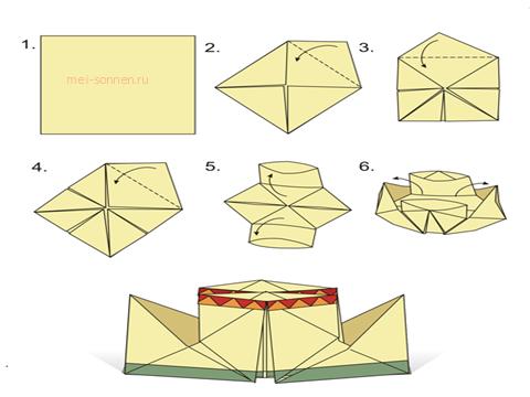 Как сделать бумажный