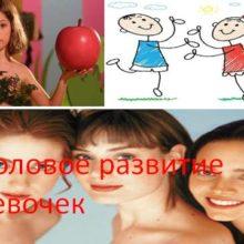 Половое развитие девочек