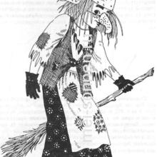 Новогодний костюм Бабы-Яги своими руками