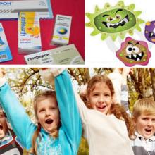 Какие противовирусные препараты можно давать ребенку?