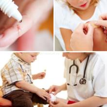 Как нужно правильно применять антисептики для детей?