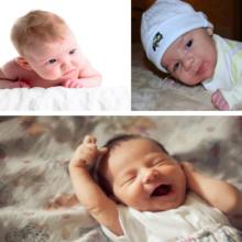 Когда ребенок начинает улыбаться и держать голову?