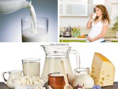 Чем полезны молочные продукты для беременной женщины?