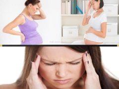 Почему беременных часто мучают частые головные боли?