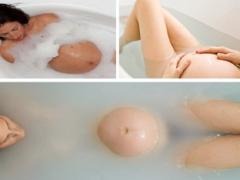 Вредна ли ванна для беременных женщин?