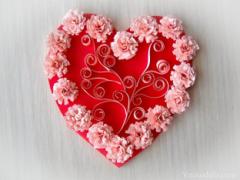Как сделать красивую валентинку на 14 февраля?