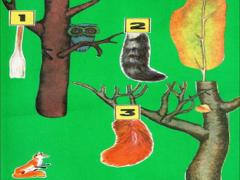 Авторская дидактическая игра «Чей хвост?»