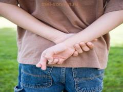 Почему дети жульничают, что делать с обманом?