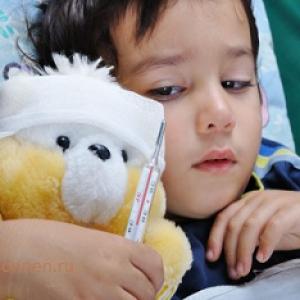 Как быстро вылечить грипп у ребенка, симптомы гриппа