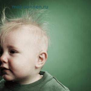 Выпадают волосы у ребенка, в чем может быть причина
