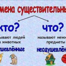 Открытое занятие по русскому языку и логопедии Тема: род имен существительных