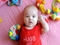 Собственный мир ребенка и руки ребенка