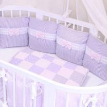 Бортики в кроватку малыша своими руками: идеи, советы
