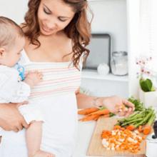 Питание кормящей матери: что можно, а что нет