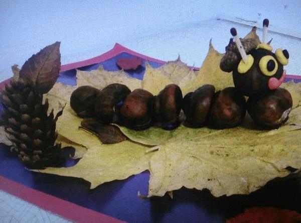11Поделки из каштанов своими руками