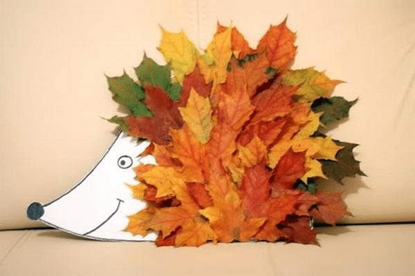 4Поделки из осенних листьев своими руками