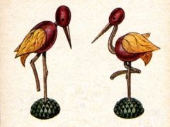 Как сделать птиц из природного материала?