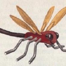 Как сделать стрекозу своими руками?
