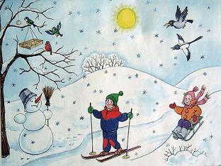 Стихи про зиму - лучшие стихотворения о зиме