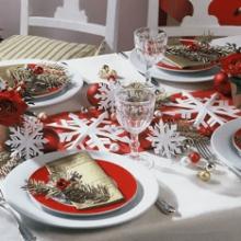Как сервировать стол на Новый год?