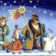 Короткие колядки для детей на Рождество