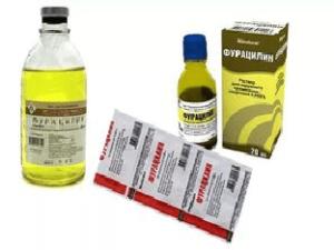 Как полоскать горло фурацилином ребенку?
