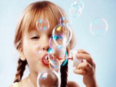 Как сделать мыльные пузыри дома?