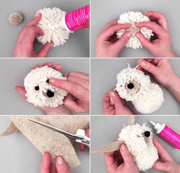 Как сделать собаку своими руками