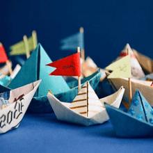 Складываем кораблик из бумаги: пошаговая инструкция