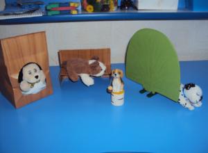 Конспект занятия с детьми с ОНР. Собака со щенком