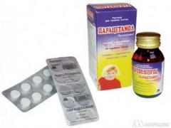 От чего помогает Парацетамол детский?