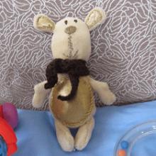 Как сшить мишку по простой выкройке?