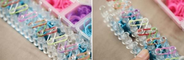 Пошаговые инструкции и схемы плетения браслетов на станке4
