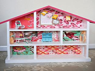 Создаем домик для куклы своими руками